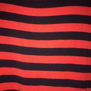 MICHAEL Michael Kors Tops - Michael Kors striped cold shoulder top